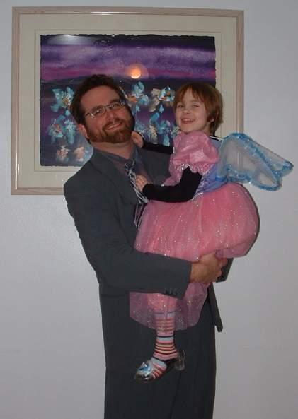 Hari & Papa before the 2005 Daddy-Daughter Dance.