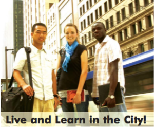 """Live an Learn in the City!"""