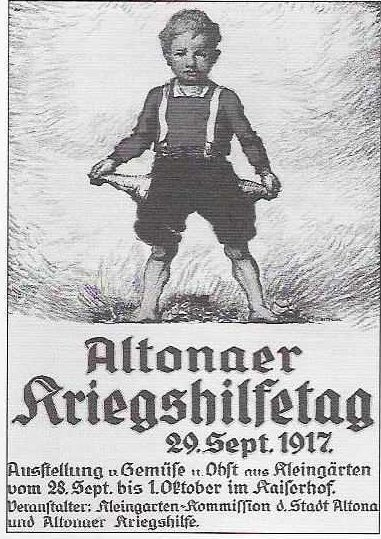 ",,Altonaer Kriegshilfetag'' -- ""War Assistance Day"""