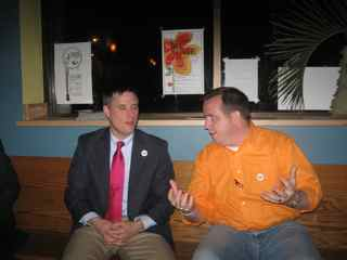 Candidates Todd Kolosso and Dave Westlake