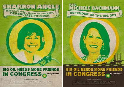 Angle-Bachmann, BP Republicans