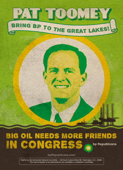 Pat Toomey, BP Republican